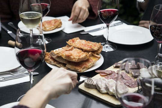 Barcelona wine and tapas tour