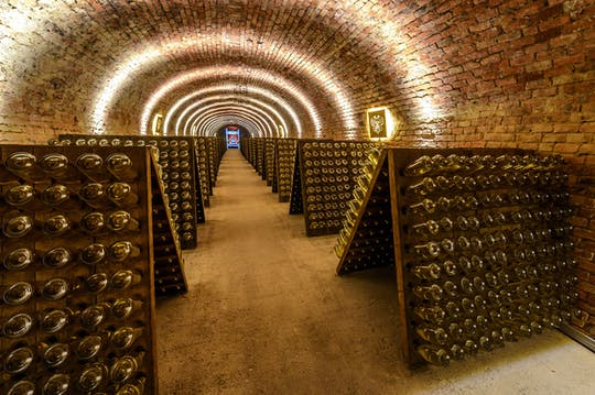 Schlumberger Wine Cellars tour Vienna