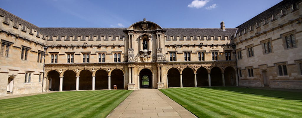Excursão à Universidade de Oxford