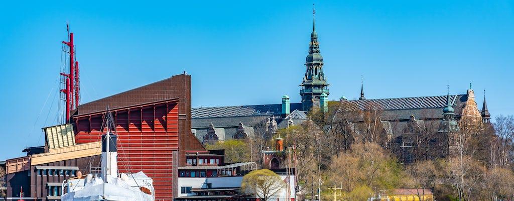 City tour em Estocolmo com motorista particular e Museu Vasa