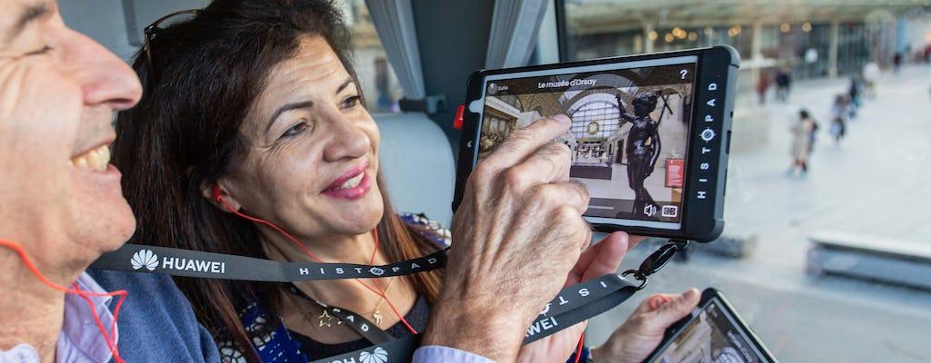 Интерактивная экскурсия по Парижу на автобусе и билеты по Сене круиз