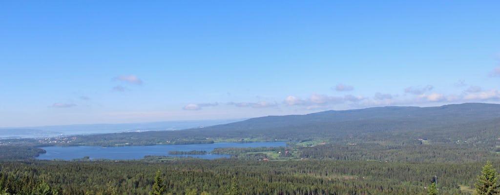 Camina por los grandes lagos de Oslo