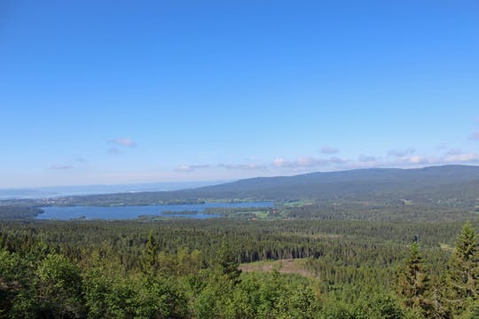 Hike around the great lakes of Oslo