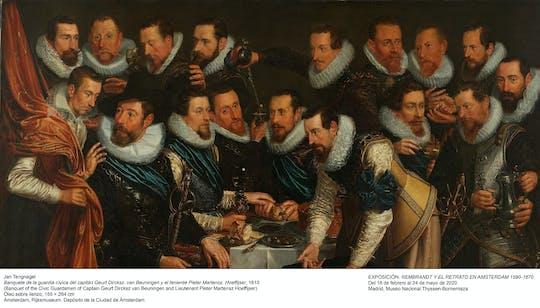 Exposición «Rembrandt y el retrato en Ámsterdam, 1590-1670» y entradas sin colas al Museo Nacional Thyssen-Bornemisza