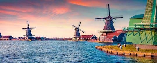 Заан речной круиз и ужин из 3 блюд из Амстердама