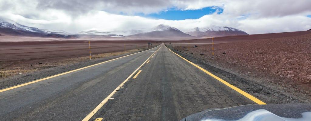 Trasferimento dall'aeroporto El Loa agli hotel di San Pedro de Atacama
