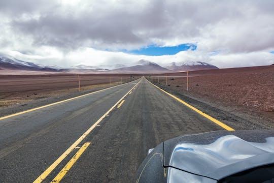 Transfer vom Flughafen El Loa zu den Hotels in San Pedro de Atacama