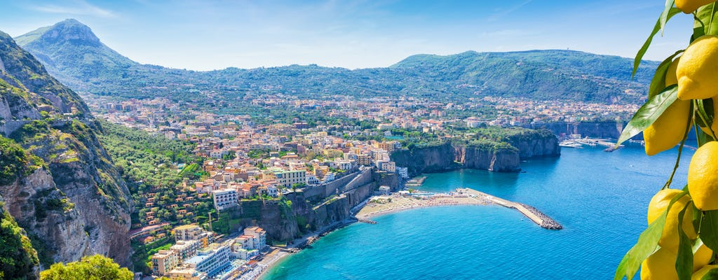 2-hour excursion along the Sorrento coast