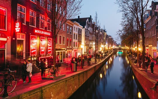 Amsterdam Red Light District walking audio tour by mobile app