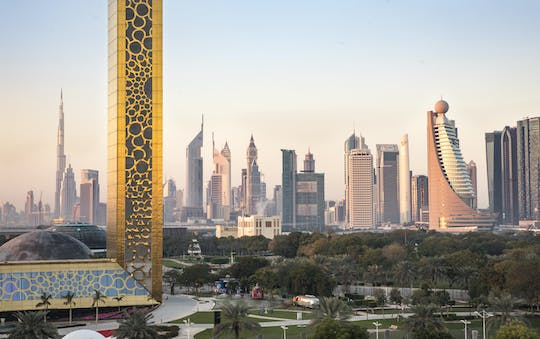 Dubai frame tickets with half-day sightseeing city tour