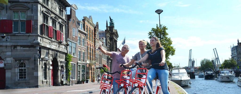 Fietstocht door historisch Amsterdam met een audiogids in de vorm van een mobiele app