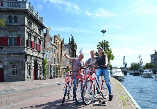 Visite à vélo historique d'Amsterdam avec audioguide par application mobile