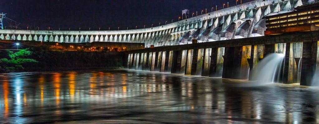 Itaipu dam lights evening guided tour