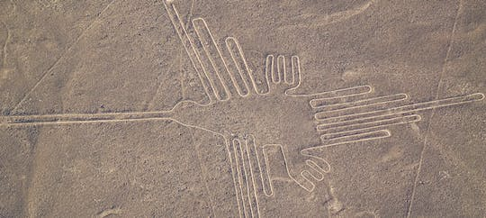 Nasca lines overflight with lunch from Lima
