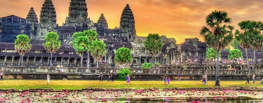 Tour privado del complejo del templo de Angkor de día completo