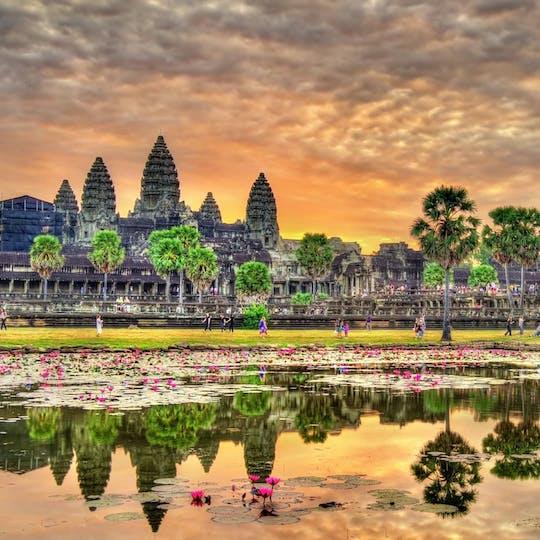 Visite privée d'une journée complète du complexe du temple d'Angkor