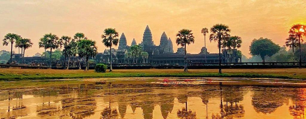 Tour privado de 3 días por los templos de Angkor y el pueblo flotante