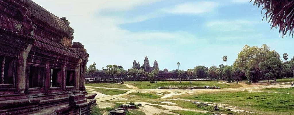 Tour privado de 3 días por el complejo del templo de Angkor y el grupo Rolous
