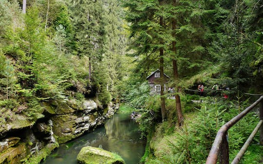 Bohemian Switzerland National Park guided tour from Prague