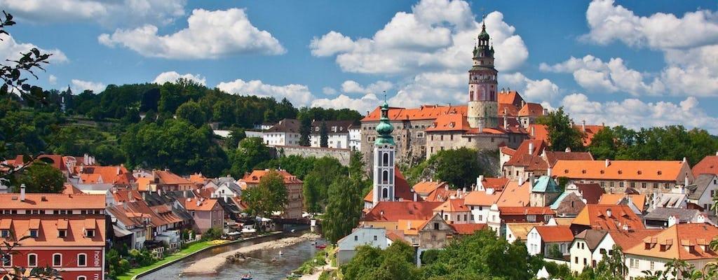 Чески Крумлов экскурсия из Праги