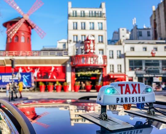 Интерактивная автобусная экскурсия по Парижу и ужин-шоу в Мулен Руж
