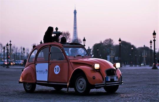 Visite de nuit Paris Eternel en 2CV