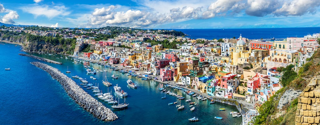 Ischia and Procida boat tour