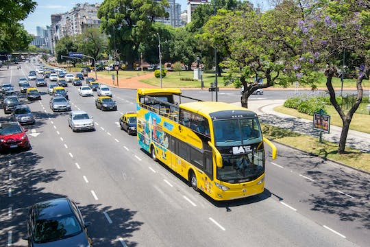 Buenos Aires hop-on hop-off bus tour: 24hr and 48hr