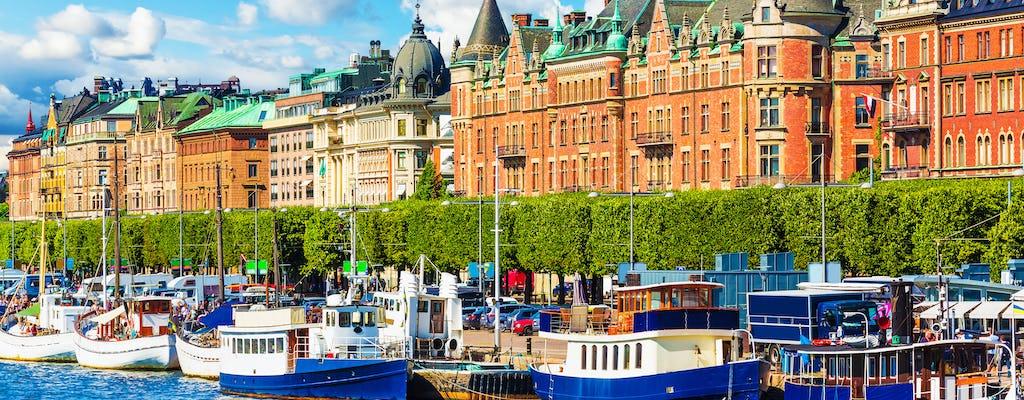 Paseo en yate privado con comida o cena por el archipiélago de Estocolmo