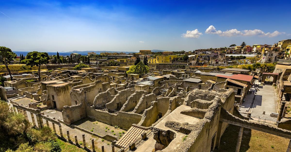 Entradas sin colas a Herculano con visita guiada opcional