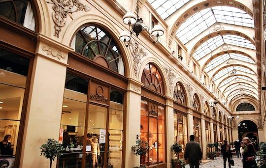Recorrido a pie por los pasajes cubiertos en el barrio del Palais Royal