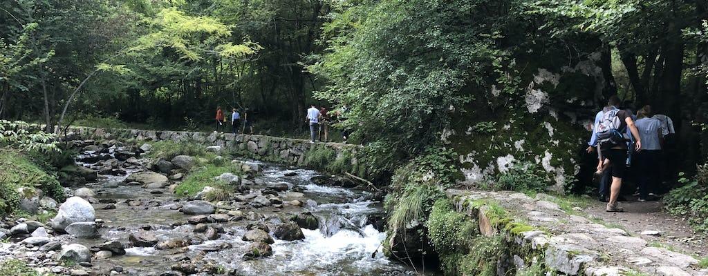 Excursão a pé em Val Senagra e degustação de alimentos