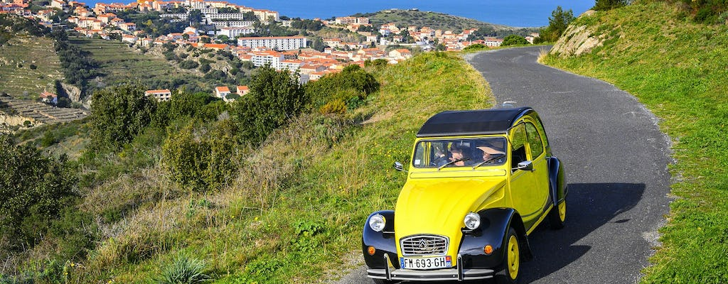 Private Tour of Collioure and the Côte Vermeille in a Citroën 2CV