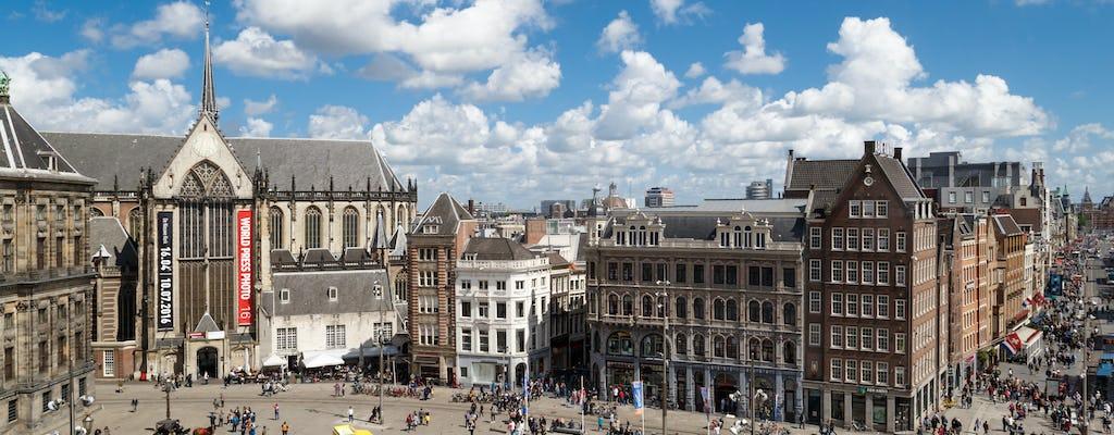 Aluguer de bicicletas de 24 horas Amsterdã com mapa da cidade