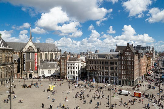 Amsterdam 24-hour bike rental with city map