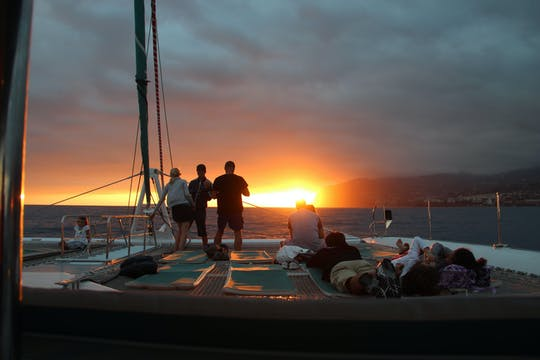 Sunset boat tour from Madeira