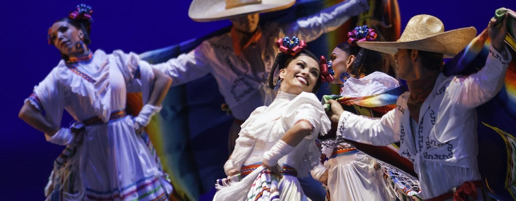 Folkloric ballet of Mexico skip-the-line VIP tickets with transportation