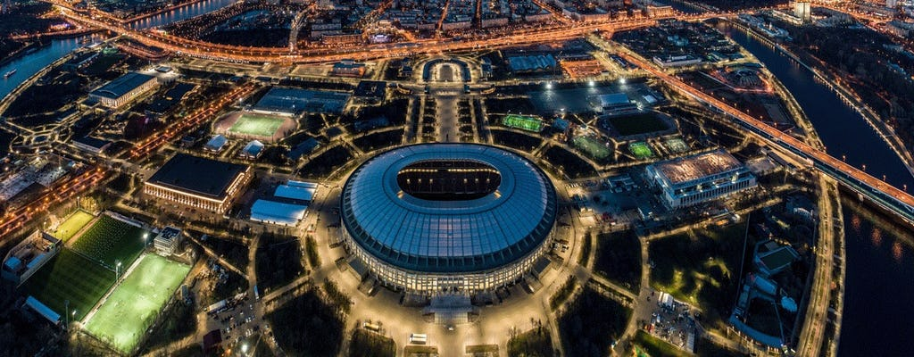 Wycieczka po Moskwie, w tym przejażdżka kolejką linową i wycieczka na stadion Łużniki