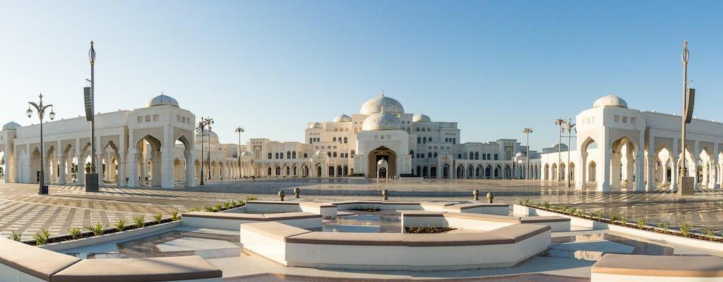 Tour della città di Abu Dhabi di un'intera giornata con il palazzo presidenziale