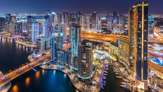Dine at the Atlantis and see Dubai by night
