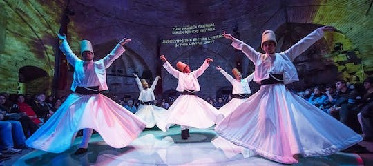 Whirling Dervishes live show and exhibition
