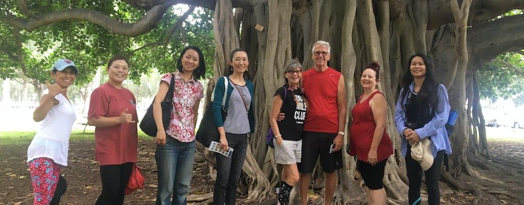 El recorrido a pie de East Waikiki
