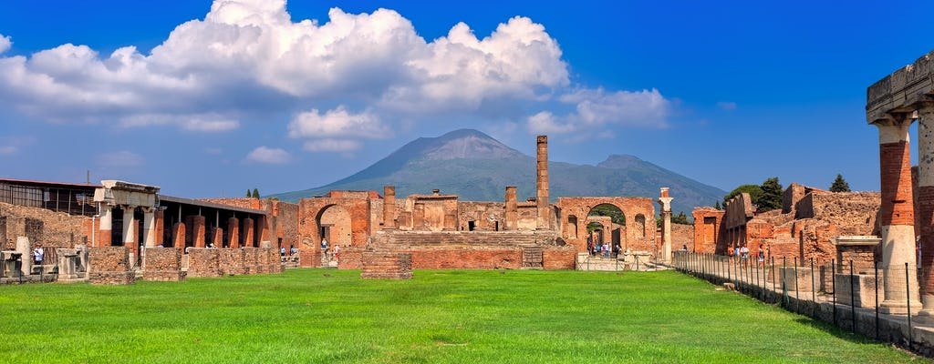 Pompeii guided tour with an archeologist