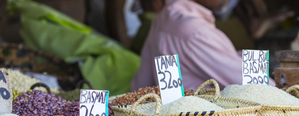 Sansibar authentisches Essen erleben private Tour