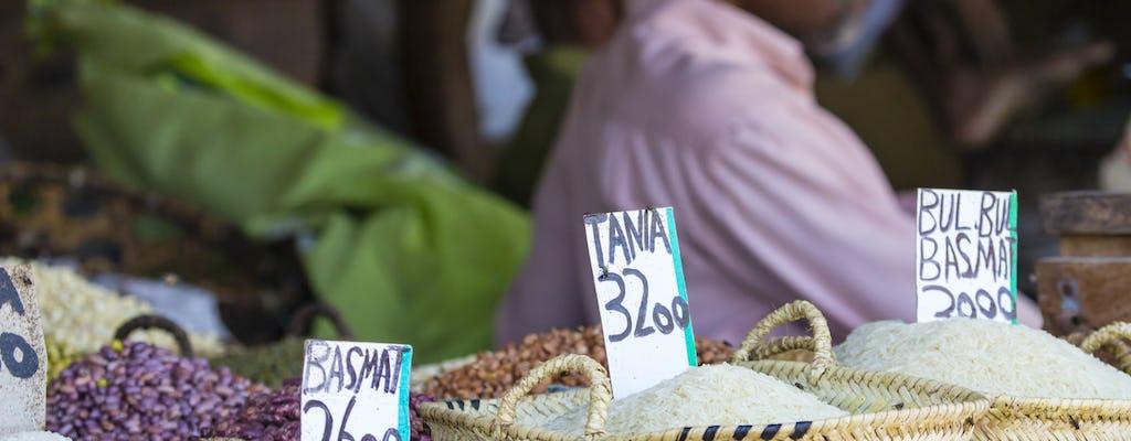 Zanzibar authentic food experience private tour
