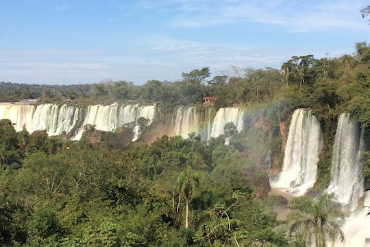 Iguassu Falls Argentina side with boat ride