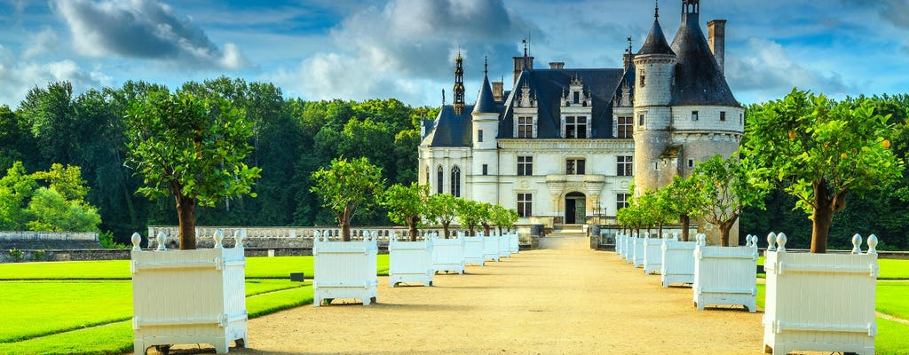 Day tour of Loire Valley Castles with wine-tasting
