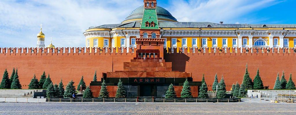 Visita comunista de Moscú con la visita al Masoleum de Lenin