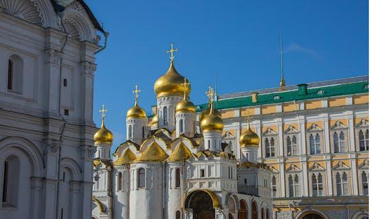 Kremlin van Moskou en Rode Plein 2-uur durende tour