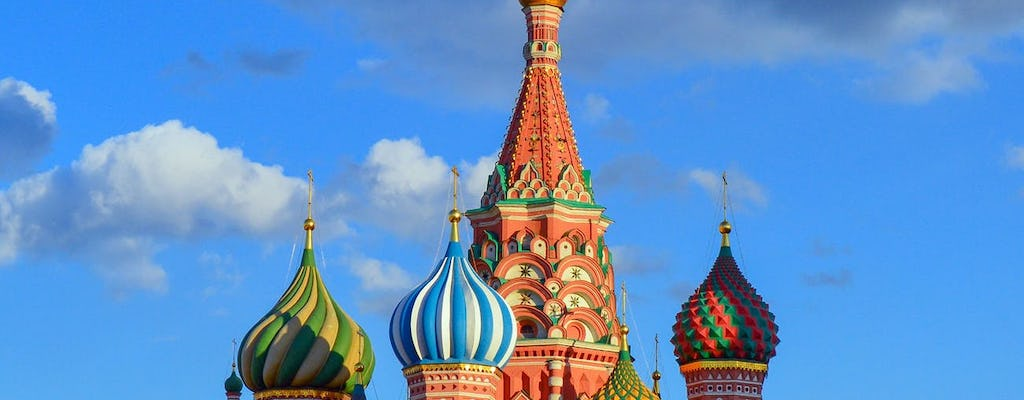 Saint Basil's Cathedral and Red Square private 2-hour tour